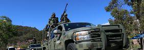 "Kumpane von ""El Chapo"": Mexiko gelingt Schlag gegen Sinaloa-Kartell"