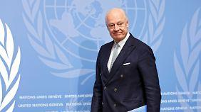 Bewegung bei Friedensgipfel in Genf: Opposition stellt klare Forderungen an Syriens Regierung