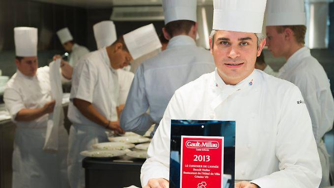 """2013 wurde Violier vom """"Gault Millau"""" zum Koch des Jahres gewählt."""