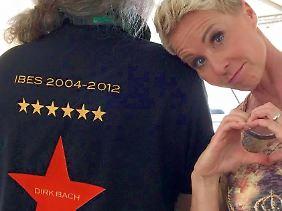 Hat Dirk Bach nicht vergessen: Sonja Zietlow.