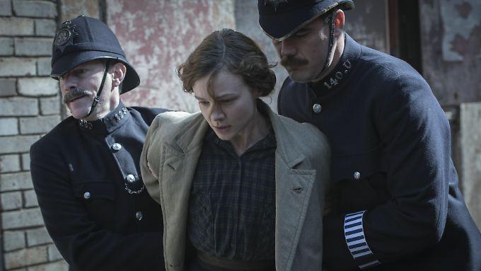 """Carrie Mulligan spielt in """"Suffragette"""" Maud Watts, eine einfache Arbeiterin, die sich für das Frauenwahlrecht einsetzt."""