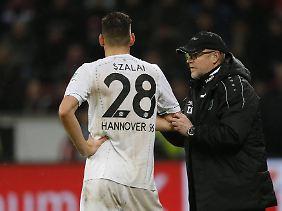 Hannover 96 ist auch unter Thomas Schaaf Ballaballa.