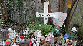 Das Grab der ermordeten Schülerin.