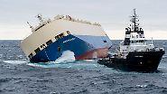 Schiffsunglück in der Biskaya: Retter erreichen den Geisterfrachter
