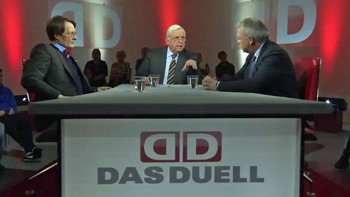 """CSU-Mann Ferber meint: """"Hauptsache der Deckel ist drauf, egal wie er heißt."""""""