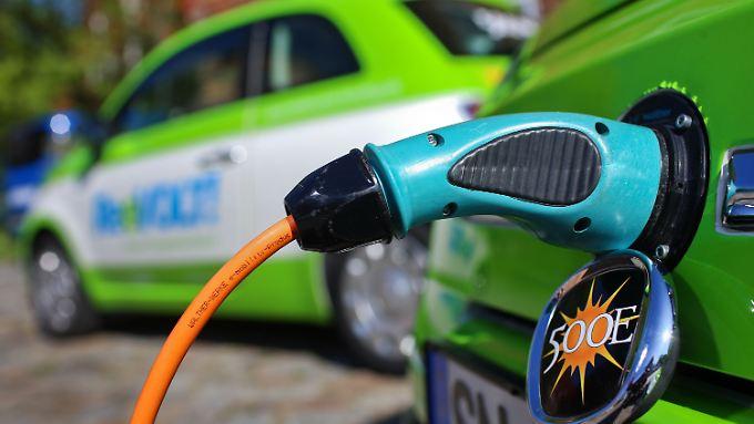 Zuschüsse in Höhe von 5000 Euro pro Elektrofahrzeug sind im Gespräch.