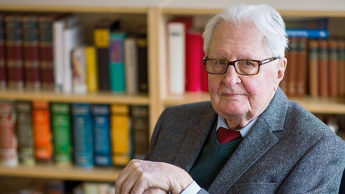 Pflichtbewusst bis ins hohe Alter: Hans-Jochen Vogel.