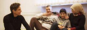 Direkt vom roten Teppich: Ben Stiller besucht Flüchtlinge in Berlin