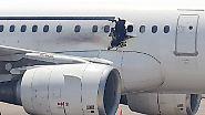 Explosion in Flugzeug über Somalia: Attentäter bringt Bombe in Rollstuhl an Bord