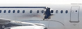 Explosion an Bord eines Airbus: Daallo-Vorfall gibt Experten Rätsel auf