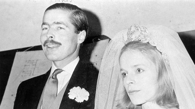 Lord Lucan soll angeblich den Mord auf seine Frau geplant haben.