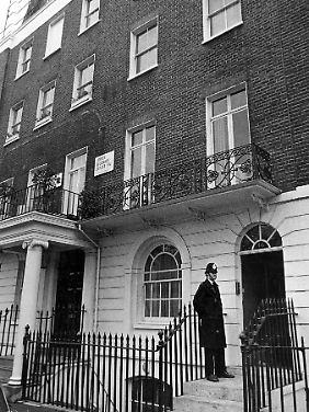 In diesem Haus im edlen Londoner Stadtteil Belgravia lebte der Lord.