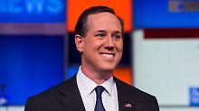 Da waren's nur noch acht plus Trump: Rick Santorum wirft hin