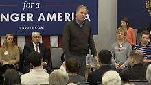"""""""Bitte klatschen Sie"""": Jeb Bush muss schon um Applaus betteln"""