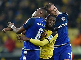 Konnte gegen Ingolstadt kaum Eigenwerbung betreiben: BVB-Angreifer Adrian Ramos vor seiner Rückkehr nach Berlin.