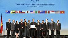 Transpazifische Partnerschaft TTP: Weltgrößte Freihandelszone beschlossen