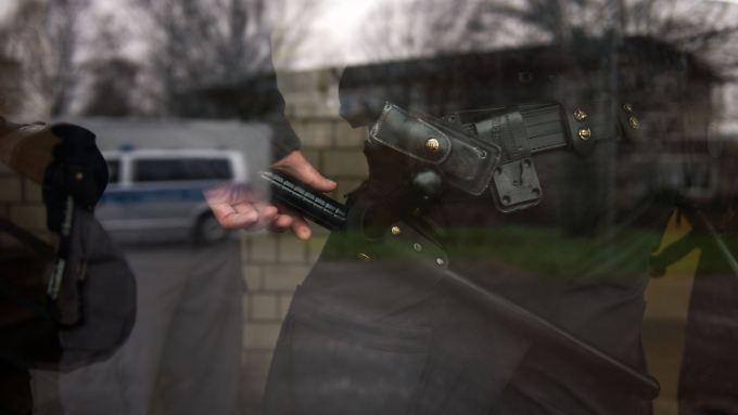 Einsatz der Polizei in einer Flüchtlingsunterkunft in Attendorn