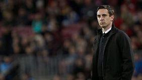 Gary Neville ist seit zwei Monaten Chefcoach beim FC Valencia. Die Frage ist: Wie lange noch?