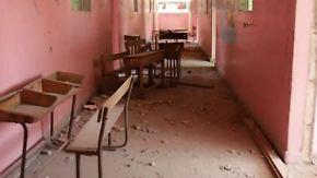 Lernen zwischen Bombardements: Syrische Schüler berichten von traumatischen Erlebnissen