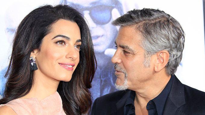 Amal und George Clooney sind heute glücklich verheiratet - der Weg dahin allerdings war holprig.
