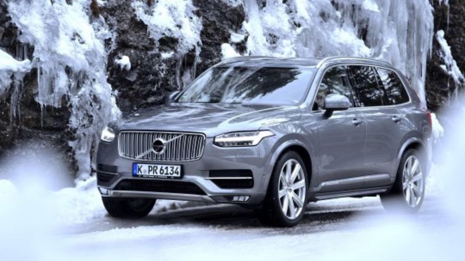 Praxistest In Den Bergen Volvo Xc90 Ist Auch Im Winter