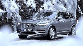 Praxistest in den Bergen: Volvo XC90 ist auch im Winter geländetauglich