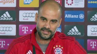 """""""Trainer bekommen keinen Respekt"""": Bayern-Trainer Pep Guardiola ist genervt"""
