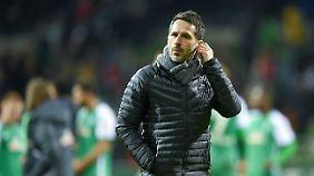Werder-Manager Thomas Eichin sieht den Grund für die Panne beim DFB.