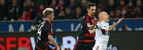 BVB-Stolperer nicht genutzt: FC Bayern lässt Punkte in Leverkusen