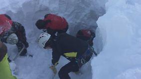 Unglück in Tirol: Fünf Tourengeher sterben durch Lawine