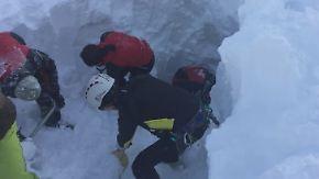 Unglück in den Tuxer Alpen: Fünf Tote nach Lawinenunglück in Tirol