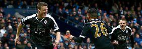 """Lineker droht peinlicher Wetteinsatz: England feiert Leicesters """"Giganten"""" Huth"""