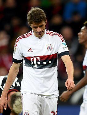 """""""Ich sehe keine Anzeichen dafür, dass es in der Mannschaft schlecht aussieht"""": Thomas Müller."""