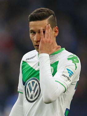 In Gent am 17. Februar spielt er dann mit Wolfsburg im Achtelfinale auch in der richtigen Champions League: Julian Draxler.