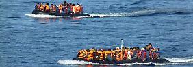 Zwei Unglücke vor türkischer Küste: Dutzende Flüchtlinge ertrinken in der Ägäis
