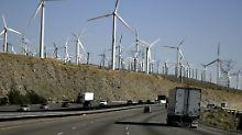 Windräder in Kalifornien.