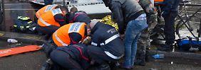 """Zwei Schwerverletzte in Paris: Orkantief """"Ruzica"""" wütet über Europa"""
