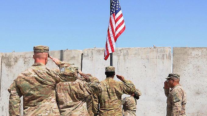Die entsandten US-Soldaten sollen sich in Afghanistan nicht direkt an Kämpfen beteiligen.