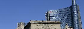 Unicredit-Hauptsitz in Mailand.