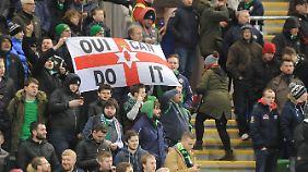 Nordirlands Fußball Fans hatten während der EM-Quali viel zu lachen. Jetzt sind sie sauer.