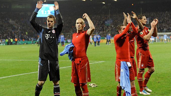 Im letzten Pokalduell zwischen Bochumer und Münchner sorgte Arjen Robben in der 91. Minute für die Entscheidung zugunsten des FC Bayern.