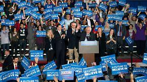 Klatsche für Clinton: Rebellen triumphieren bei Vorwahlen in New Hampshire