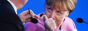 Stern-RTL-Wahltrend: Abwärtstrend der Union vorerst gestoppt