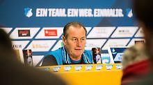 Akute Herzrhythmusstörungen: Stevens tritt als Hoffenheim-Coach zurück