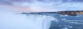 Viel Geröll, kein Wasser: USA wollen Niagarafälle trockenlegen