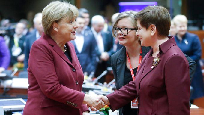 Der Eindruck täuscht: Seit Monaten ist das deutsch-polnische Verhältnis unterkühlt.