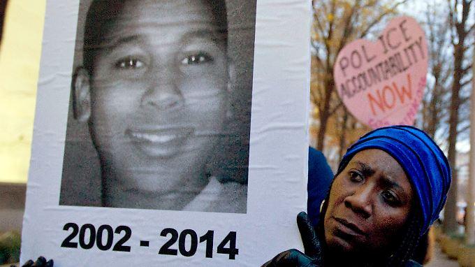 Immer wieder hatte es Proteste wegen des Falls Tamir Rice gegeben.