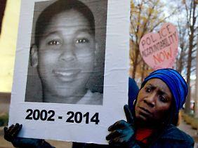 Tamir Rice wurde biem Spielen erschossen.