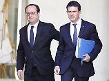 Panik bei Frankreichs Sozialisten: Premier Valls macht Hollande Druck