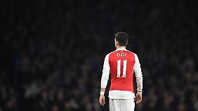 Mesut Özil präsentiert sich beim FC Arsenal aktuell in bestechender Form.